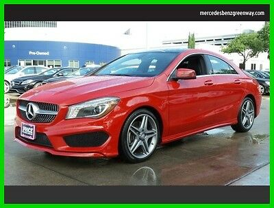 2015 Mercedes-Benz CLA-Class CLA 250 2015 CLA 250 Used Certified Turbo 2L I4 16V Automatic Front Wheel Drive Sedan
