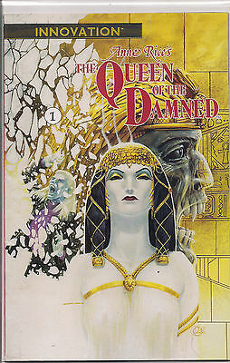 QUEEN of the DAMNED 1 2 3 4 5 6 7 8 9 10 11 1st Print INNOVATION 1991 VF RaRe