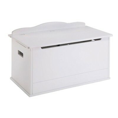 Guidecraft Expressions Toy Box, White