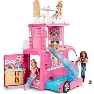 Barbie - Pop Up Camper Vehicle