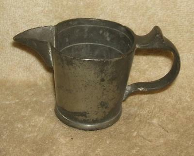 Late 1700's to Early 1800's English Pewter Apothecary Measure