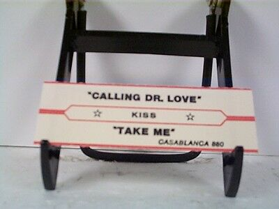 "Kiss ""calling Dr Love"" Jukebox Strip"