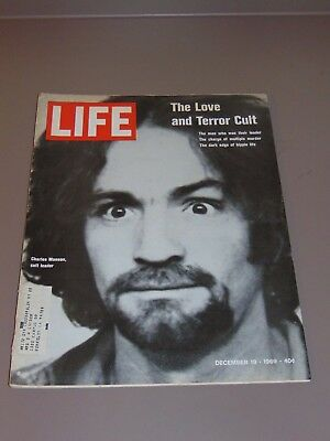 "Dec. 19, 1969 Life Magazine: Charles Manson And His ""family"""