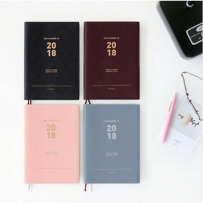 2018 Iconic The Planner [M] Diary Scheduler Journal Schedule Book Note Organizer
