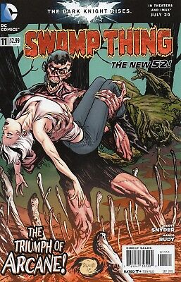 Swamp Thing #11 (NM) `12 Snyder/ Rudy