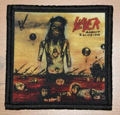 "SLAYER ""CHRIST ILLUSION"" silk screen PATCH"
