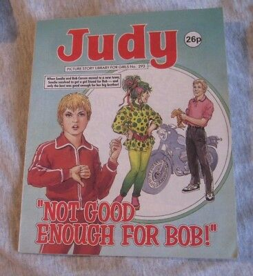 JUDY PICTURE LIBRARY  No.293  NOT GOOD ENOUGH FOR BOB