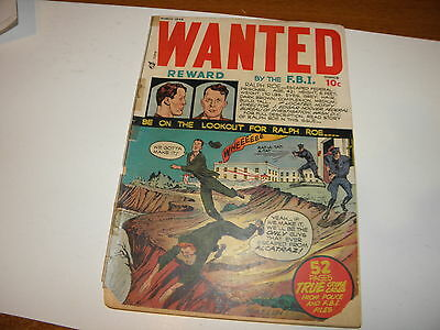Wanted Comics #12 Mar 1948 Toytown Seduction Of The Innocent Mort Lawrence FAIR+