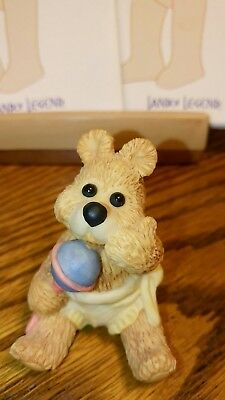 Land of Legend Cub Club Hap Henriksen 'Shake it Baby!' Bear Figurine 1992