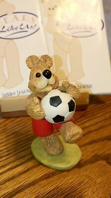 Land of Legend Cub Club Hap Henriksen 'Player of the Year' Bear Ornament 1994