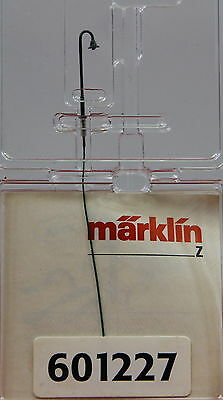 601227 Marklin Z-scale Old Era Goose Neck Lamp / Light,  Height 23 mm - 7/8""