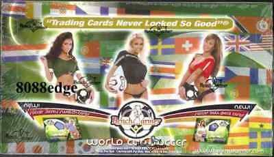 2006 Benchwarmer World Cup Soccer Factory Sealed Box- Ball/auto/kiss/worn Jersey