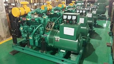 New 30Kw Three 3 Phase 60hz Diesel Powered Generator Free Delivery From NC US