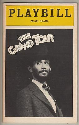 "Joel Grey  ""The Grand Tour""  Playbill  1979  Broadway  FLOP"