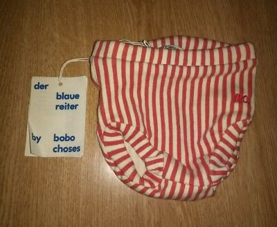 Der Blaue Reiter By Bobo Choses Stripes Bloomers. Size 3-6mths. NEW with Tags