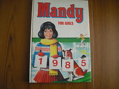 Mandy For Girls - Annual 1985
