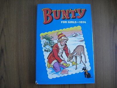Bunty For Girls - Annual 1974 - With Dust Jacket