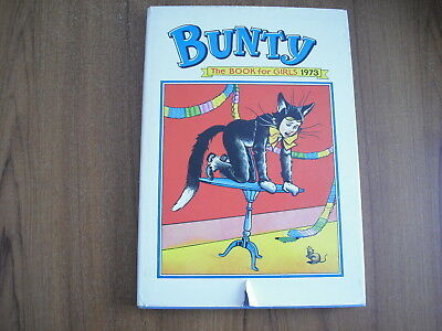 Bunty For Girls - Annual 1973 - With Dust Jacket