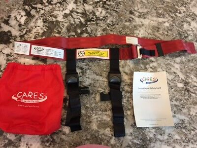 CARES Kids Fly Safe - Used only Once