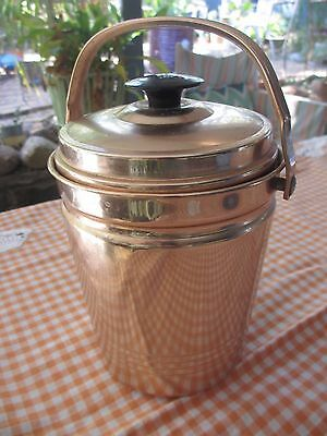 VINTAGE Anodised Ice Bucket made in West Germany