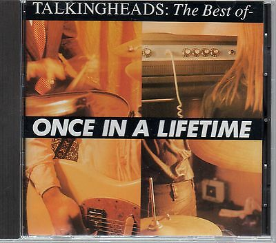 TALKING HEADS - Once In A Lifetime (Best Of) - CD Album *Hits**Collection*