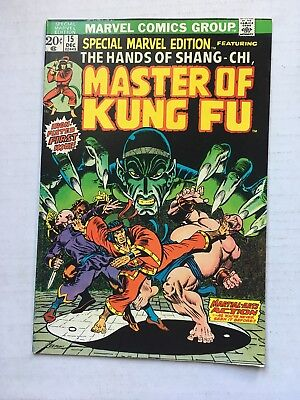 SPECIAL MARVEL EDITION Featuring: MASTER OF KUNG FU #15 1973 First Appearance