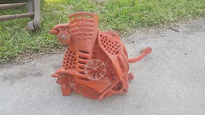 Antique Corn Sheller Hs1 Hs2 Complete Working One Break As Shown Unmarked