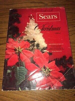 1964 Sears Roebuck Co. Gifts for Christmas catalog vintage Barbie toys wishbook