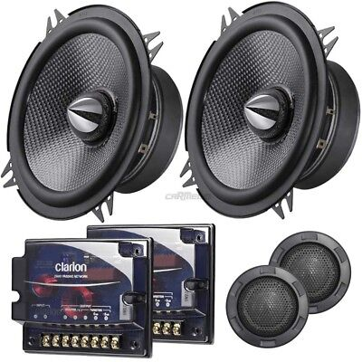 BMW 3er (E36) Compact 1994 onwards Clarion car speakers 130mm component rear