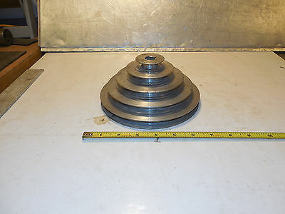 "Clausing 15"" Drill Press Motor 5/8""   Step Pulley 15,16,17 Series"