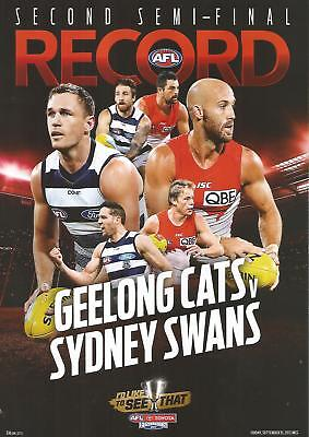 2017 Geelong Vs Syd Swans Semi~Final Footy Record
