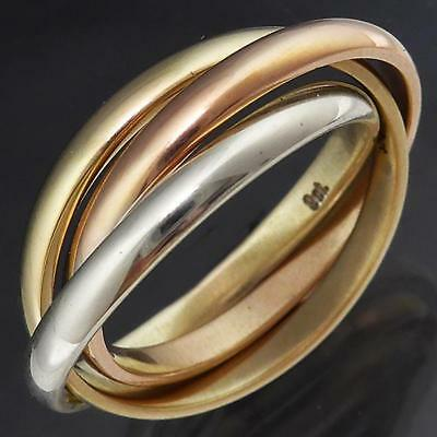 Mens 9ct gold russian wedding ring o aud 18150 picclick au for Mens russian wedding ring