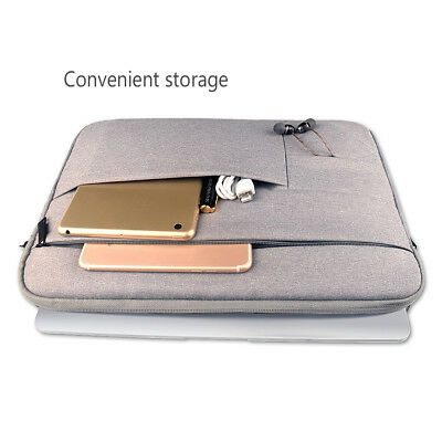 """Laptop Sleeve Case Carry Bag Pouch Cover For 12"""" 14"""" 15.6'' Notebook MacBook"""