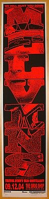 2004 The Melvins - Cleveland Silkscreen Concert Poster S/N by Martin