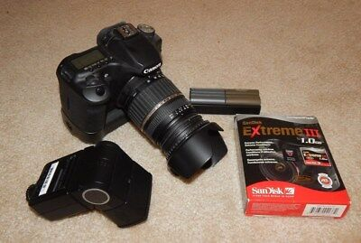 CANON 50D DIGITAL CAMERA Bundle w/ Accessories (15.1MP) ~ BLACK