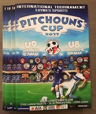 2017 Youth Tournament Official Programme West Ham United Manchester City Chelsea