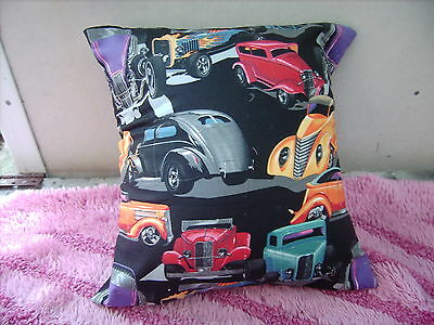 Hot Rods   [  Large  ]   Cushion 16 Inch/ 40 Cm