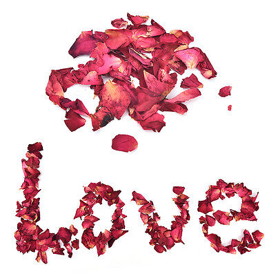 20g Dried Rose Petals Bath Tools Natural Dry Flower Petal Spa Whitening ShowerTO
