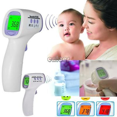 Digital Non-contact Infrared Forehead Body Thermometer with Three-color ENE