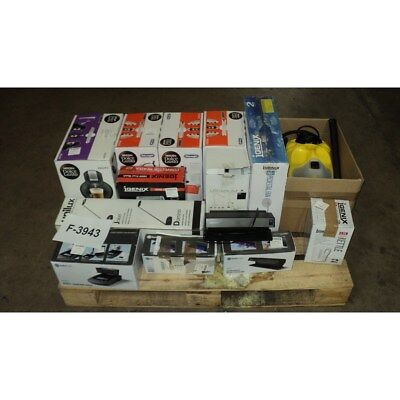 Job Lot Mixed Electrical Items, Lamps, Coffee Machines etc... + Faults F-3943