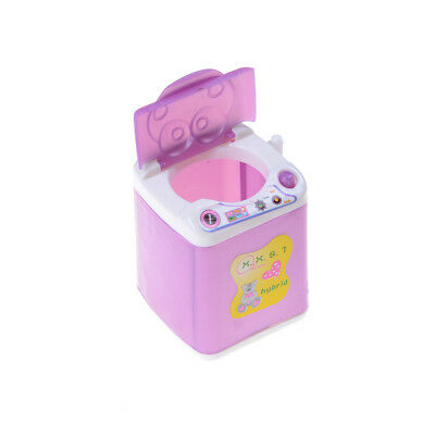 Dollhouse Washing Machine Washer Laundry Home Furniture Gift For Barbie Dolls TO