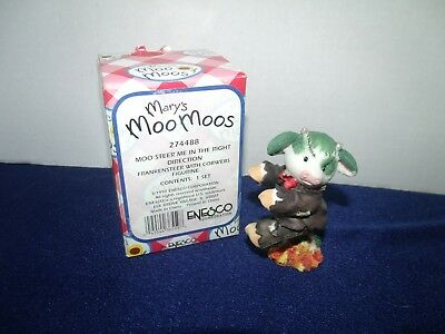 Enesco Mary Moo Moos 1997 moo steer me in the right direction #274488