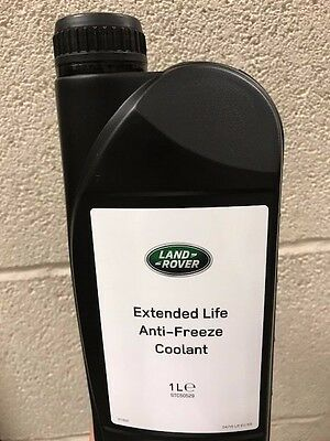 Genuine Land Rover Extended Life Anti-Freeze Coolant -1L