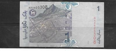 MALAYSIA #39b 1998 VF CIRC OLD RINGGIT BANKNOTE PAPER MONEY CURRENCY BILL NOTE