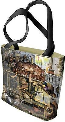 Woven Tote Bag - Remington the Horticulturist 2553