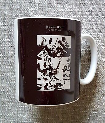 Gentle Giant - In A Glass House - Earthenware/sublimated Lp Cover Coffee/tea Mug