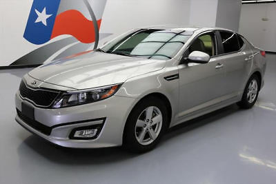 2015 Kia Optima LX Sedan 4-Door 2015 KIA OPTIMA LX CRUISE CONTROL BLUETOOTH ALLOYS 35K #446617 Texas Direct Auto