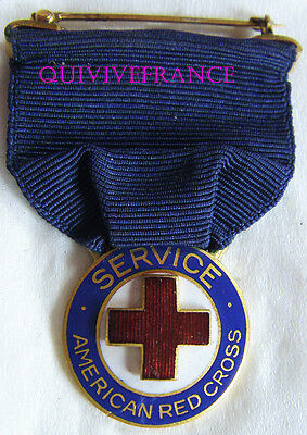 Dec4819 - American Red Cross Service Medal Wwi