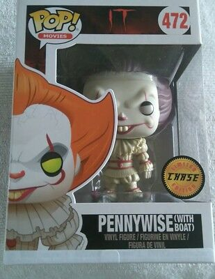 Funko POP Vinyl - It Pennywise Chase Variant MSIB vaulted new