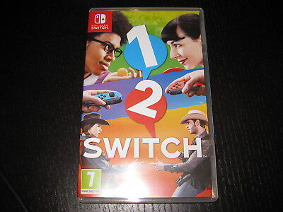1-2-SWITCH -  Nintendo Switch Game - Region Free - MINT